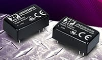 Image of XP Power's JWE06 and JWE08 Series Wide Input DC-DC Converters